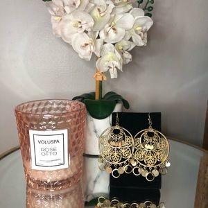 Gorgeous Gold Filigree Earrings